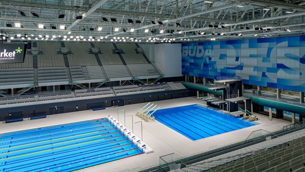 Duna Arena Aquatics Centre Consultancy Portfolio
